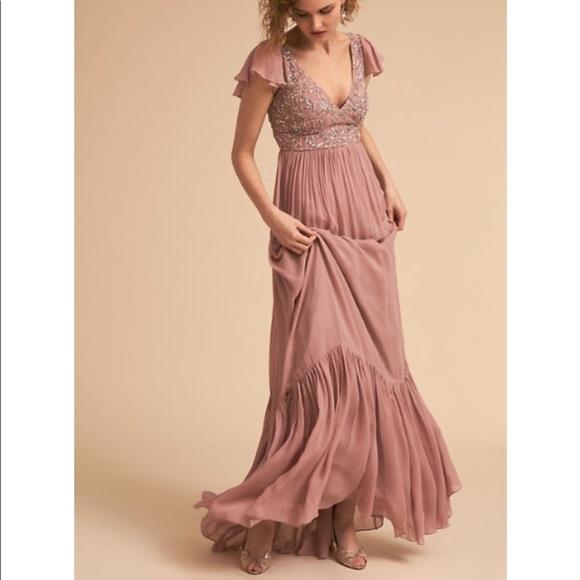 5be4748e3d3 BHLDN Dresses   Skirts - BHLDN DAPHNE DRESS ROSE QUARTZ